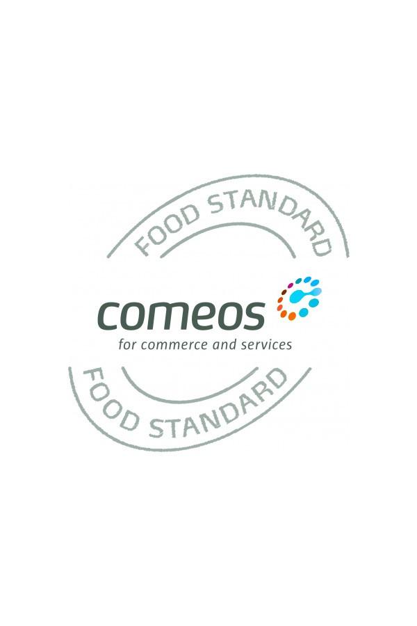 Lunchtime possède une certification Comeos